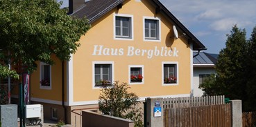 Pensionen - Art der Pension: Urlaubspension - Wienerwald Süd-Alpin - Haus Bergblick